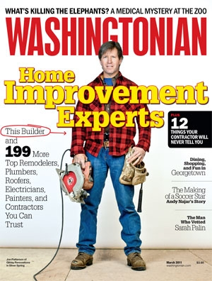 Recommended by Washington Magazine